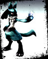 twilight lucario - super-smash-bros-brawl fan art