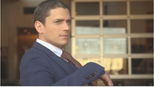 Wentworth Miller Hintergrund with a business suit called wentworth miller out magazine