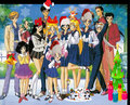x mas sailor moon