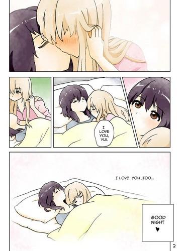 yuri wallpaper possibly containing anime entitled ♥ º ☆.¸¸.•´¯`♥ Yuri ♥ º ☆.¸¸.•´¯`♥