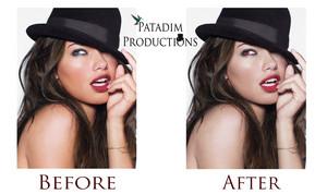 Adriana Lima - Photomanipulation