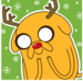 christmas jake - adventure-time-with-finn-and-jake icon