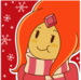 christmas flame princess - adventure-time-with-finn-and-jake icon