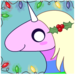 christmas lady rainicorn