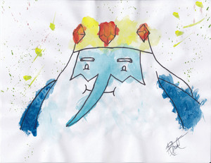 Ice King Watercolor