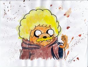 Afro Jake Watercolor