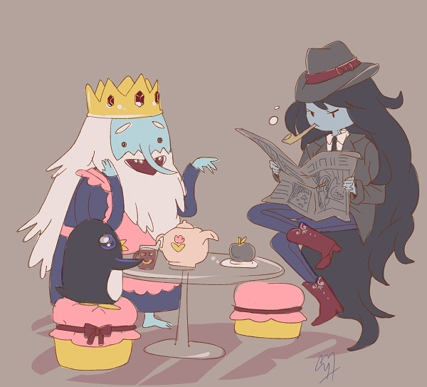 tsaa With Marceline and Ice King