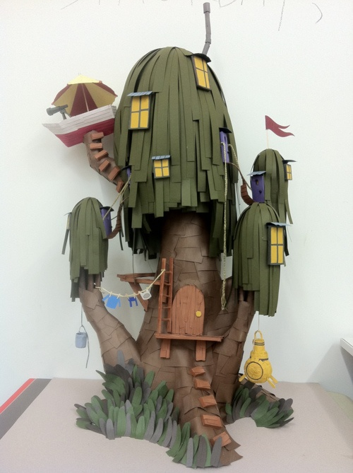 Finn and Jake's Treehouse Realistic