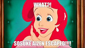 Aizen has escaped