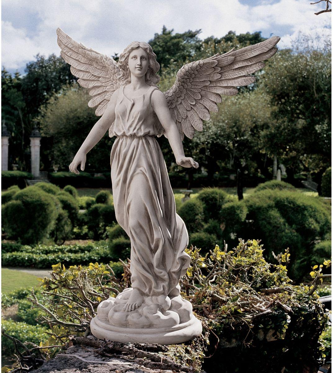 All arts images angel sculpture hd wallpaper and for Statue deco jardin