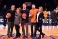 Cast of Downton Abbey at Knicks Game