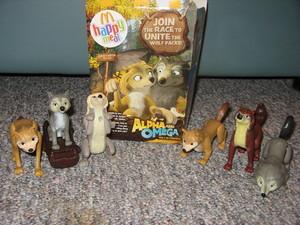 Alpha and Omega toys