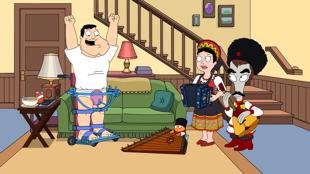 American Dad! wallpaper possibly with a stairwell called Crotchwalkers
