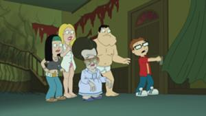 American Dad! wallpaper titled Poltergasm