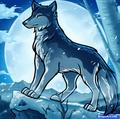 Jake the anime wolf - anime-wolves photo