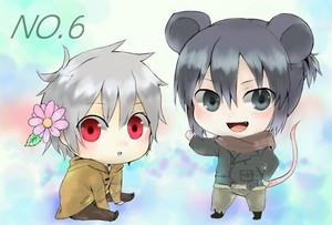 ちび Shion and Nezumi