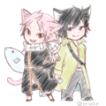 Natsu and Gray - anime fan art