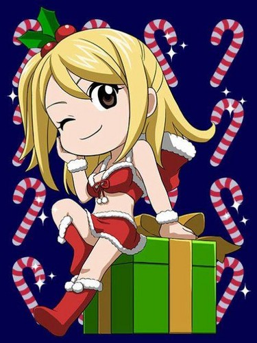 fairy tail anime christmas wallpaper - photo #12