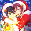 RinHaru (merry christmas) - anime fan art