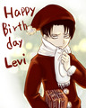 Happy Birthday Levi - anime fan art