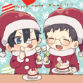 Ao No Exorcist Christmas fan art - anime fan art