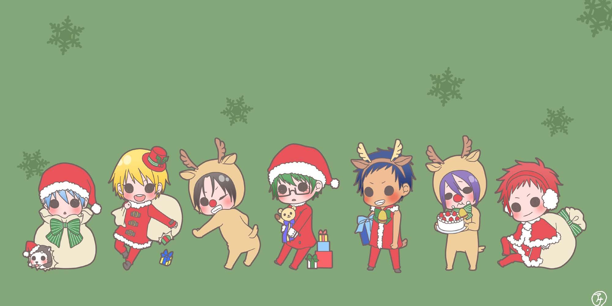Kuroko No Basket Christmas پرستار art