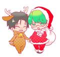 Kuroko No Basket Christmas fan art - anime fan art