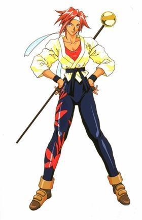Kanna Kirishima from Sakura Wars