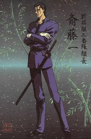 Hajime Saito from Rurouni Kenshin