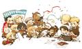 SNK  CHIBI - anime fan art