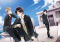 SNK  (Eren,Jean,Levi) - anime fan art