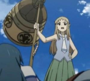 Saki Amase from Shikabane Hime: Corpse Princess