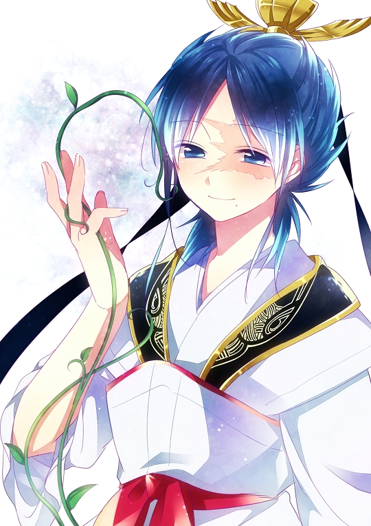 Anime Characters Named Ren : Ren hakuryuu anime fan art  fanpop