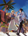 Alibaba and Hakuryuu - anime fan art