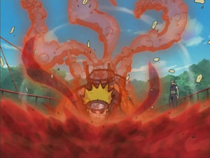 naruto in the 9 tails