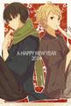 Akihito and Hiroomi - anime fan art
