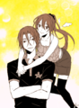 Rin and Gou - anime fan art