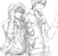 MakoHaru           - anime fan art