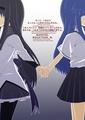 Puella Magi Madoka Magica and Higurashi no Naku Koro ni Crossover  - anime fan art