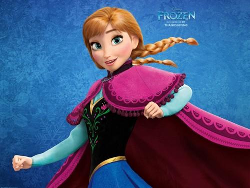Princess Anna kertas dinding called Anna Of Arendelle