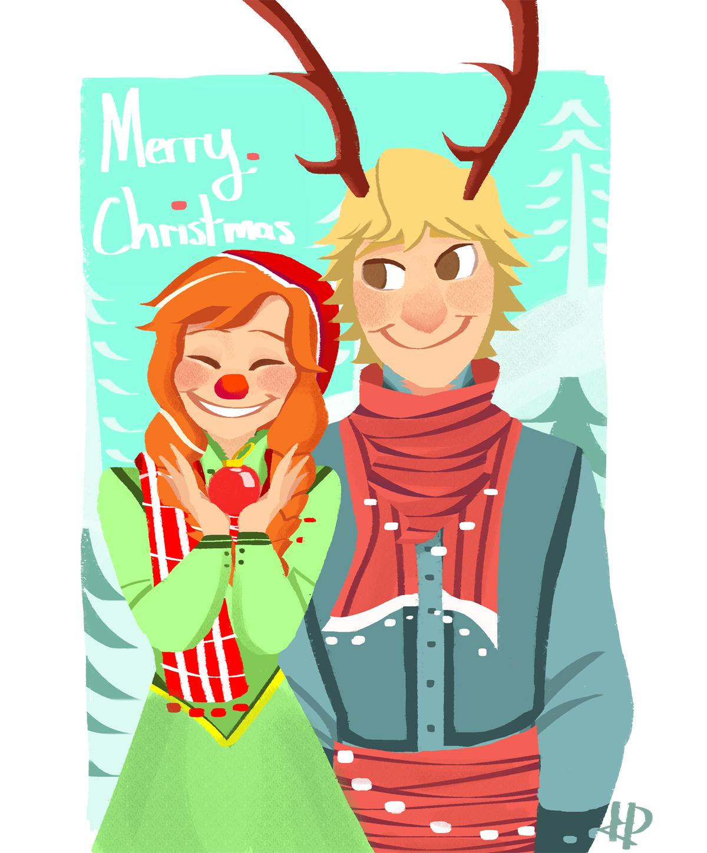 Anna and kristoff anna and kristoff fan art 36325688 fanpop