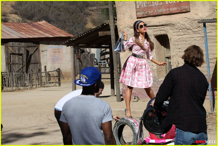 Ariana Grande Covers 'Teen Vogue' February 2014
