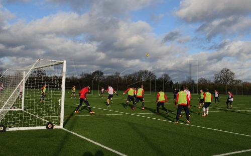 Arsenal 壁紙 entitled Arsenal Training