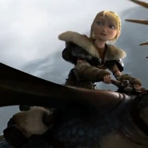 Astrid in the HTTYD 2 Trailer