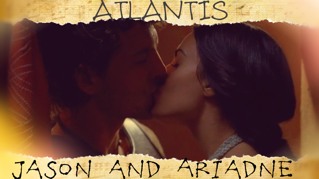 Jason and Ariadne KISS