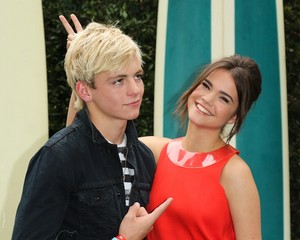 Ross and Maia Being Silly