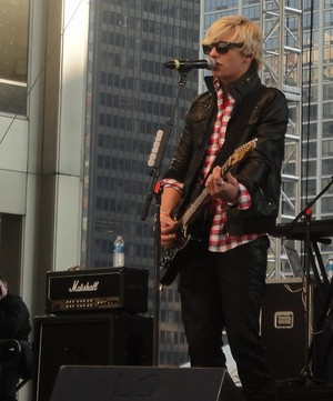 Ross Playing at a Concert