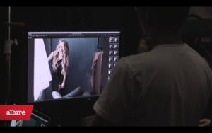 Backstage of Allure Photoshoot (Dec)