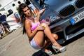 bmw tuning with girl