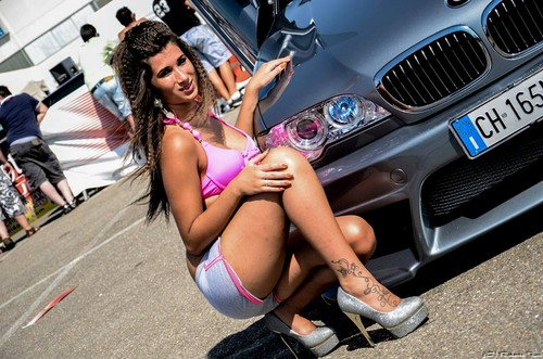 Bmw Images Bmw Tuning With Girl Hd Wallpaper And